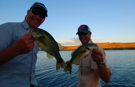 bass fishing on fly rods