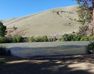 Boat Ramp at Bighorn Access