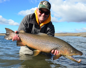 Steve Joyce Fly  Fishing Tierra Del Fuego Brown Trout