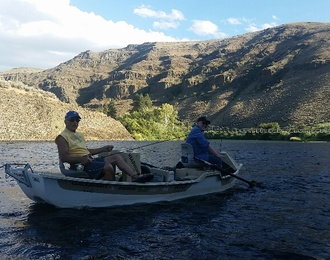 Evening Float on the Yakima River