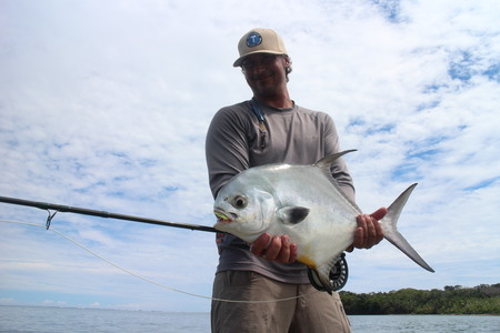 Permit Fishing in Costa Rica