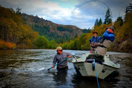 Now booking klickitat river deluxe riverside camp for Klickitat river fishing report