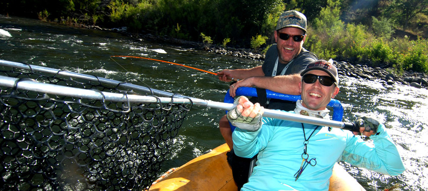 More Naches River Action