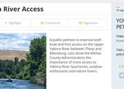 Petition for Access on the Upper Yakima River