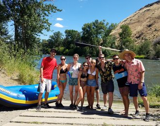 river raft rentals in the yakima canyon