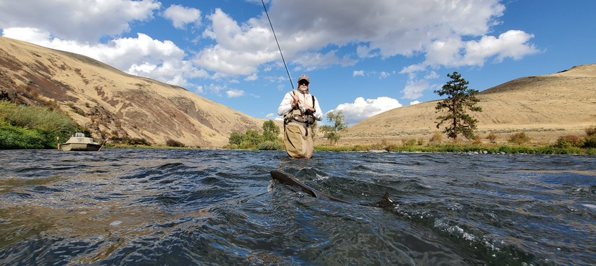 steve johnson trout spey yakima canyon wading