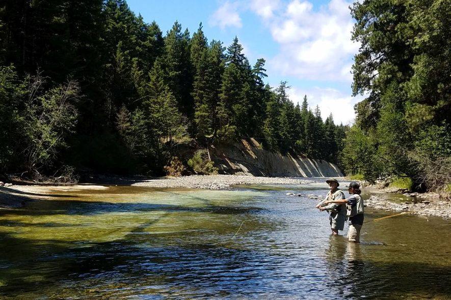 teaching 301 on the Teanaway River