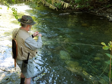 Basic skills to be learned on small creeks fishing for Small creek fishing