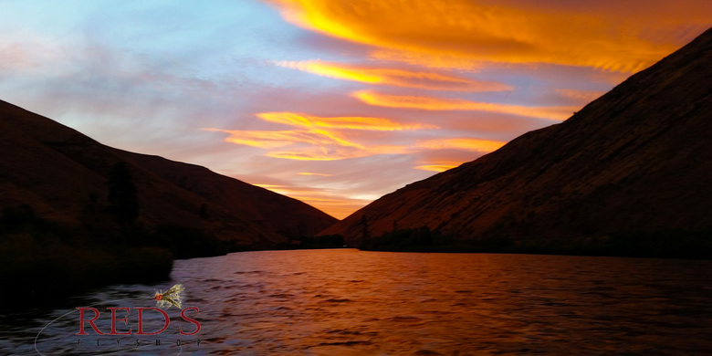 Yakima River Canyon Sunset
